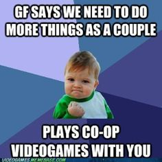 gamer couple memes | tags success meme gamers couple submitted by unknown
