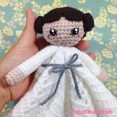 stuff susie made: Princess Leia Blankie - Free Crochet Pattern and Tutorial