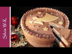 Weihnachtstorte / feine Lebkuchentorte - YouTube