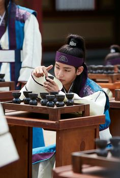 Taehyung ❤ Hansung in Hwarang Episode 5 Photos! #BTS #방탄소년단