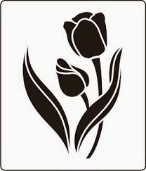 Resultado de imagen para stencil flores