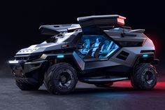 This armored vehicle is for people who think the Tesla Cybertruck isn't intense enough | Yanko Design