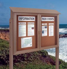 Outdoor Wooden Notice Boards Village Signs Manufacturers