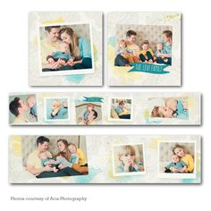Everscent Accordion Mini Book  - available through Jen Boutet Photography with your portrait session - in Charlottesville, Va.