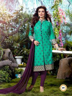 Cotton Indian Salwar Kameez Unstitch 100% Cotton Churidar Shalwar Kameez Suit 7 #OdInParis #Casual