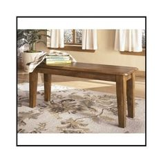Dining-Table-Bench-Seat-Rustic-Wood-Furniture-Kitchen-Room-Hall-Home-Antique-New