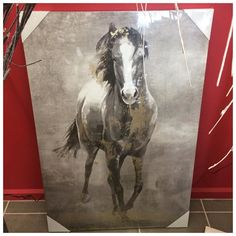 Stunning horse canvas just arrived approx 90cm high only $69.95 #horse #horselove #horselife #horsecrazy #shop3280 #warrnambool #warrnambool3280 #warrnamboolchristmasshop by warrnambool_christmas_shop