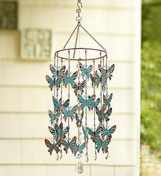 Butterfly Wind Chime From 1 800 FLOWERS.COM