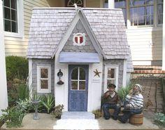 Dollhouse exterior seaside