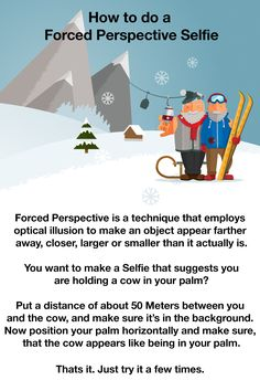 Only for advanced users! #SwissSelfie #Perspective #Selfie #SwissSeflieTip