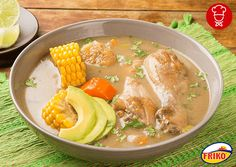 My Colombian Recipes, Colombian Food, Food Out, Good Food, Yummy Food, Pollo Recipe, Queso Feta, Comida Latina, Chicken Soup