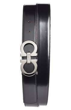Salvatore Ferragamo Reversible Leather Belt available at #Nordstrom