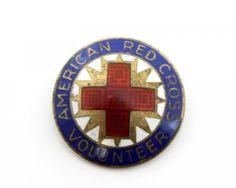 Early-20c-American-Red-Cross-Volunteer-Multi-Color-Enamel-Sterling-Silver-Badge