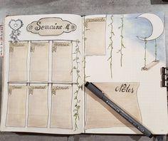 "187 oznaka ""sviđa mi se"", 11 komentara – Intemporelle Création (@intemporelle.creation) na Instagramu: ""Ma 14ème semaine dans mon bullet journal. #bulletjournalfr #bulletjournallove #bujofr #bujoinspire…"""