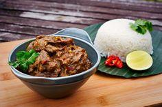 Indonesische Rendang (Rundstoof met kruiden en kokosmelk)-In 2011 is de Indonesische rendang verkozen tot het lekkerste gerecht van de wereld door de CNN