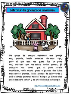 Complete collection of stories for boys and girls with the letters the alphabet The stories collected here will help you teach your children the alphabet. Funny stories in which the lyrics of … Spanish Classroom, Teaching Spanish, Teaching Resources, Learning English, Spanish Songs, Spanish Lessons, Speech Language Therapy, Speech And Language, Abc Centers