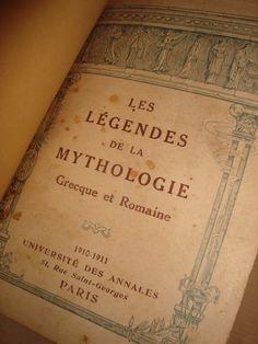 Les Légendes de la Mythologie (Grecque et Romaine) | VITALIVROS / Alfarrabista