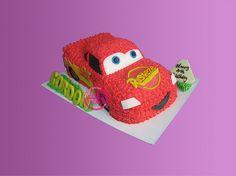 反斗車王立體蛋糕 - cars 3D cake