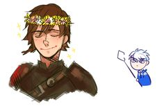 In which Hiccup steals all of Jack's fangirls. (I actually don't like his new look so much, I miss his dorky Hiccupness :( )