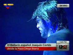 Joaquín Cortés derrochó fuego y pasión gitana en Caracas