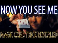 Now You See Me - Magic Card Trick Revealed - YouTube