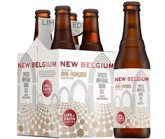 Spiced Imperial Dark Ale Ale aged on white oak spirals beer - New Belgium Brewing