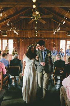 A wedding on a $2000 budget is no small feat. Not in the least. But a wedding on a $2000 budget that also raises money for charity? We call that wildly awesome. This couple set out to have a beautiful affair without