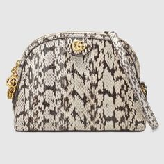 ca837e923 Ophidia small snakeskin shoulder bag