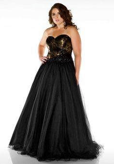 65dbed3d47a Fabulouss Plus Size 76483F at Prom Dress Shop