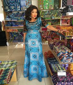 Weekend Special: The Latest Must Have Breathtaking Ankara Styles - Wedding Digest Naija Mother of the bride? African Dresses For Women, African Print Dresses, African Print Fashion, African Attire, African Wear, African Fashion Dresses, African Women, African Prints, Ankara Long Gown Styles