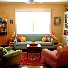 And The Mismatched Furniture Is Actually Kind Of Cute