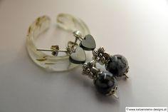 Ohrringe Dark Heart Cufflinks, Stud Earrings, Accessories, Jewelry, Creative Products, Chain, Nice Asses, Bijoux
