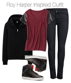 """Arrow - Roy Harper Inspired Outfit"" by staystronng ❤ liked on Polyvore"