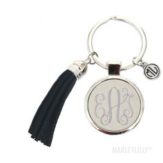 New Arrivals - Monogram Gifts & Accessories Monogram Keychain, Monogram Jewelry, Tassel Keychain, Monogram Necklace, Monogram Gifts, Lilly Pulitzer Keychain, Marley Lily, Cute Gifts, Making Ideas