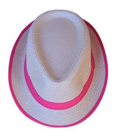 77ecedc667826 Womens Brights Lined Fedora Cap Bowler Hat (Bright Fuchsia) at Amazon  Women s Clothing store