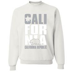 California Republic Raiders Style Crewneck Sweatshirt