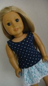 """Lots of free AG doll clothes patterns """"American Girl"""""""