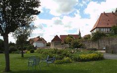 park in duderstadt-deutschland