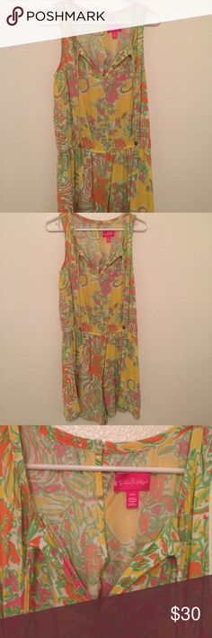Lilly Pulitzer for Target Romper size M Lilly Romper size M in very good condition. Spring cleaning my closet!! Send me an offer! No trades... Lilly Pulitzer Dresses