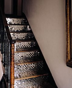 Add some shine to a dull stairway?