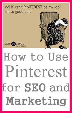 How to Use Pinterest for SEO and Marketing - Learn why Pinterest can be an invaluable tool for your business, and exactly how to use it to improve SEO, drive traffic, and engage with your fans. Visit our blog to learn more about using Pinterest to market your business http://atlasproject.co/blog/