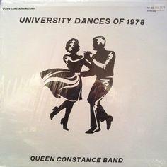 95f660678 Queen Constance Band - University Dances Of 1978