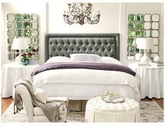 Giselle Bedroom by Ballard Designs  I  ballarddesigns.com