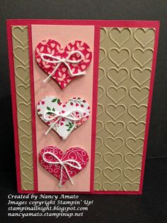 Stampin' All Night: Just Cards Class: All You Need Is Love