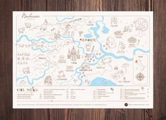 This is a placemat for kids with a map of Italian region Piedmont in which there is а Barbaresco comune. Kids can colour the map, examine food and animals of the region while adults enjoy the food.