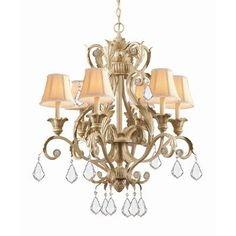 (CLICK IMAGE TWICE FOR UPDATED PRICING AND INFO) #home #ceiling #homeimprovement #homedecor #lighting  #lights #lightandfixture #chandeliers see more chandeliers at http://www.zbrands.com/Chandeliers-C35.aspx - Crystorama Chandeliers - Winslow  Chandelier Finish: Dark Rust