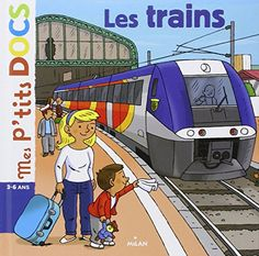 Comment se déroule un voyage en train ? Comment ça se passe pourles enfants accompagnés par la SNCF ? À quoi ressemble la cabine du conducteur ? Qui surveille le réseau des trains ? Comment sont les couchettes du wagon-lit ? Comment étaient les premiers trains ?… Un « P'tit doc » pour les passionnés des transports, mais aussi pour ceux qui prennent le train tout seuls ou pour la première fois. Les trains, de Stéphanie Ledu http://www.amazon.fr/dp/274595556X/ref=cm_sw_r_pi_dp_fw6xub0R8EF26