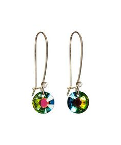 Love this Vitrail Medium Drop Earrings With Swarovski® Crystals on #zulily! #zulilyfinds