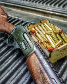 """weaponslover: """"Truck gun: rifle capable of killing pretty much anything, mythical or not, that you may get the opportunity to shoot at. Scout Rifle, Firearms, Shotguns, Revolvers, Lever Action Rifles, Guns And Ammo, Weapons Guns, Hunting Rifles, Assault Rifle"""