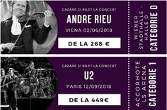 Concerte Andre Rieu si in Europa 2018 Le Concert, U2, Paris, Traveling By Yourself, Vienna, Montmartre Paris, Paris France